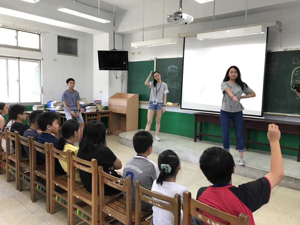 飄洋過海到新北,華裔志工化身最棒營隊教師-1 (新北市政府教育局提供)