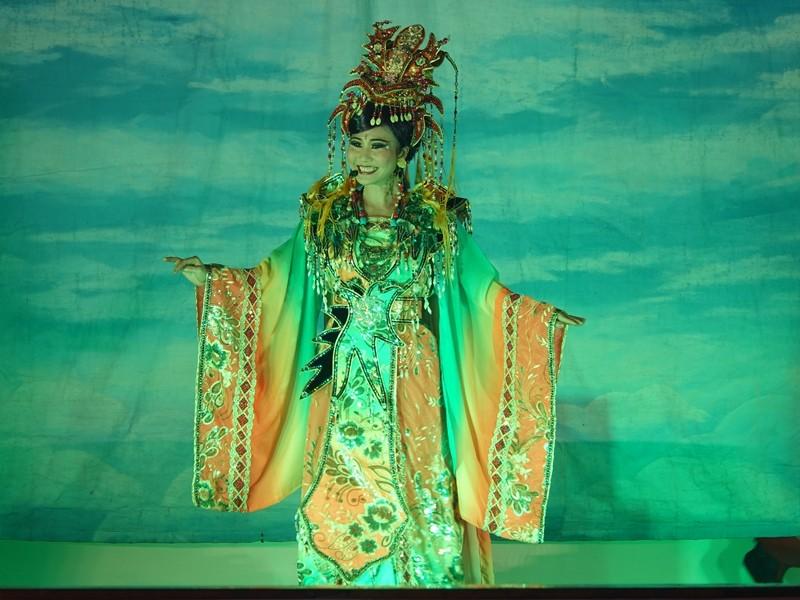 劇團當家花旦阮安妮(圖片來源:新北市政府)