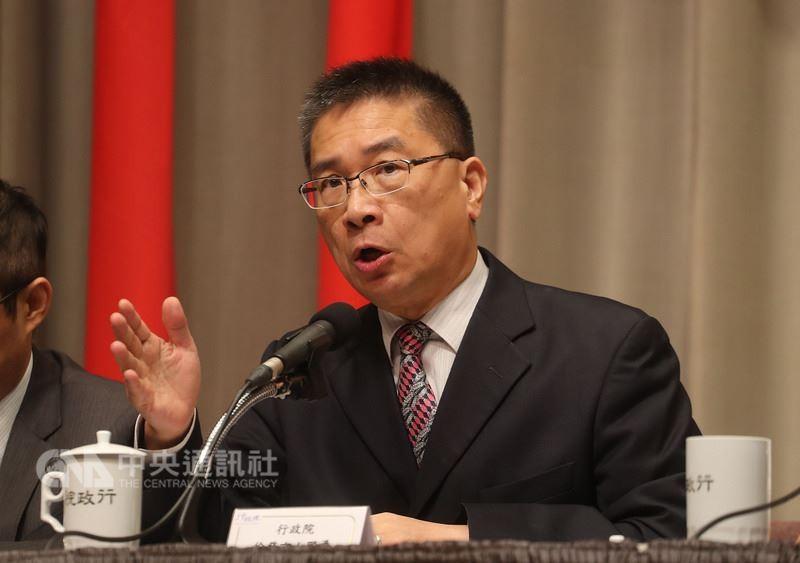 政務委員兼發言人徐國勇將接掌內政部長(中央社)