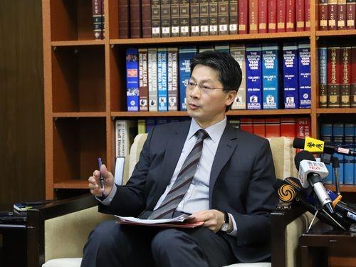 MOFA spokesman Andrew Lee.