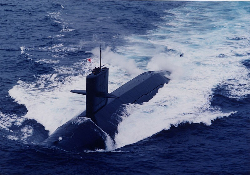 Japanese Harushio class submarine