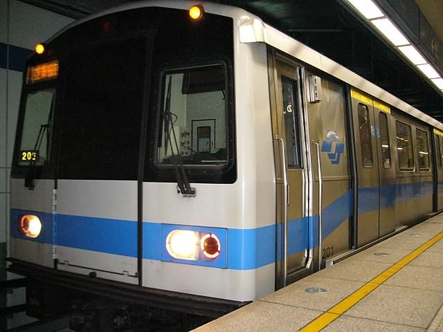 Taipei Metro train.
