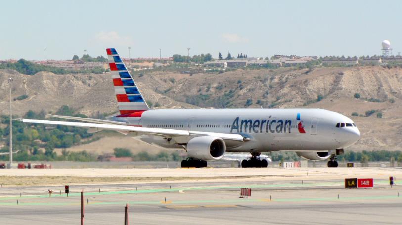 美國航空示意圖(維基百科)