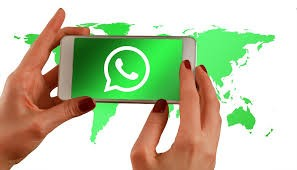 Whatsapp示意圖<圖片來源:Max Pixel>
