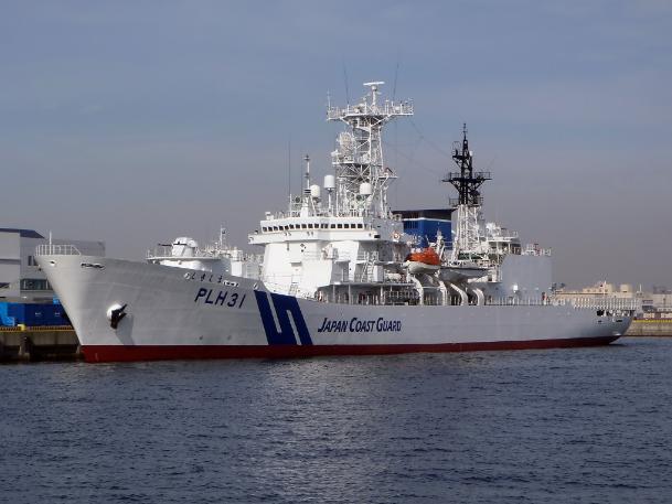 日本海巡機構海上保安廳船隻示意圖(維基百科)