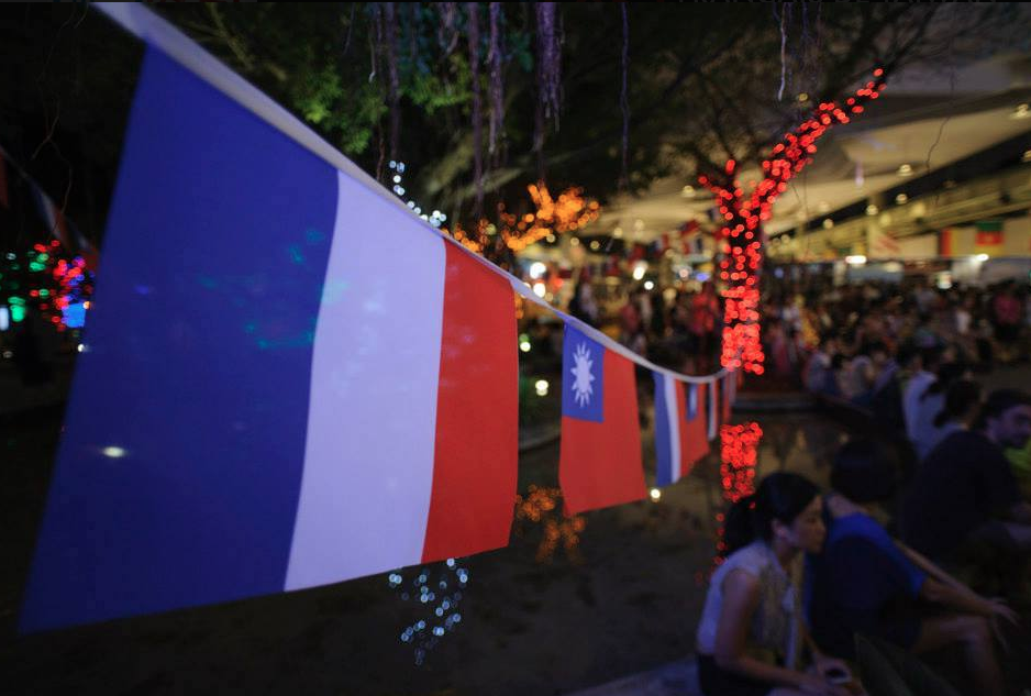 AFT throws party to celebrate Bastille Day. (Photo by AFT)