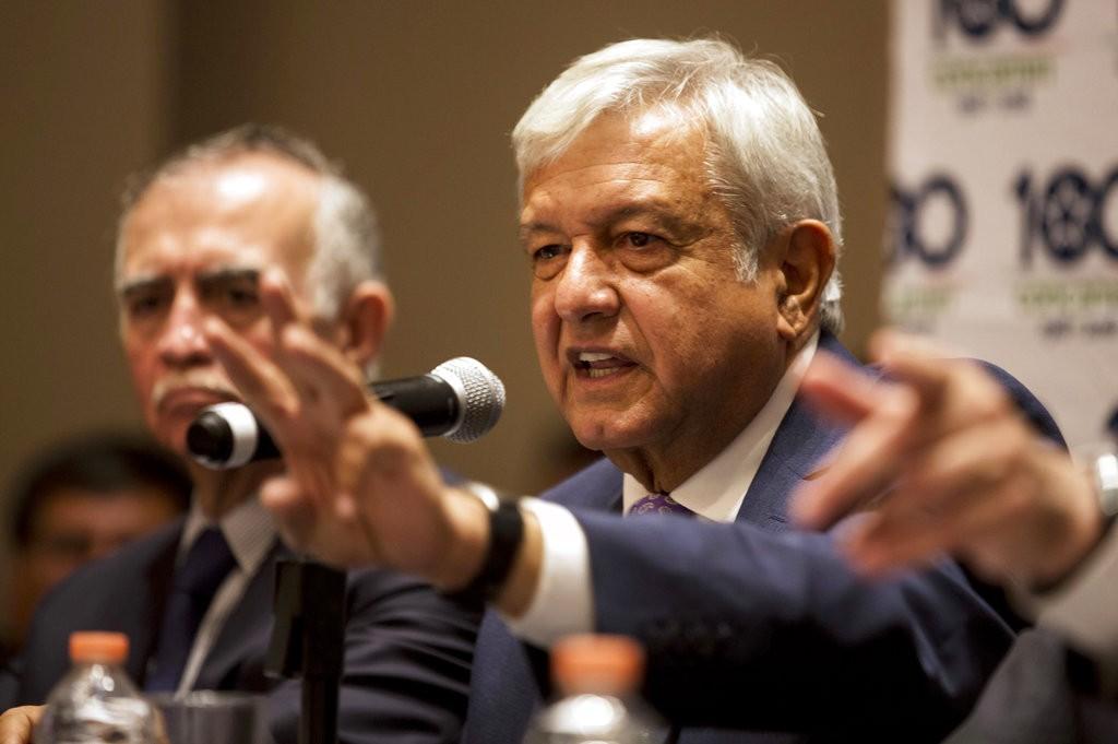 墨西哥總統洛佩斯·奧布拉多爾(López Obrador)(美聯社)