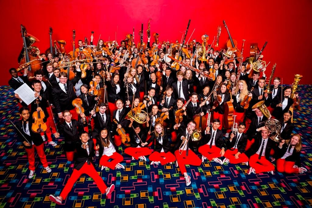 The National Youth Orchestra of the United States of America (image courtesy of AIT)