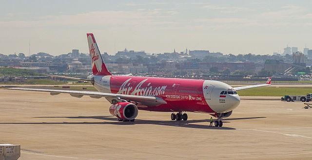 AirAsia Airbus A330-300.