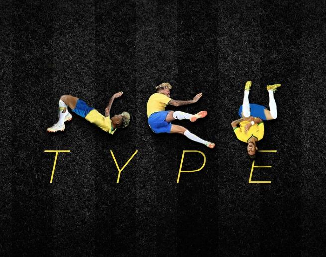 內馬爾個人字體Ney type免費下載(圖片來源:Luciano Jacob臉書)