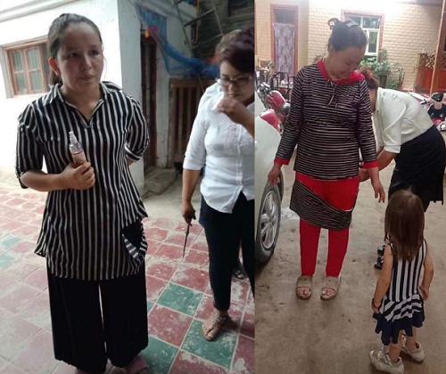 China enforces dress code in Xinjiang by cutting up women's clothing