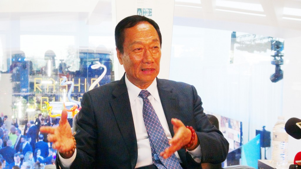 Foxconn founder Terry Gou.