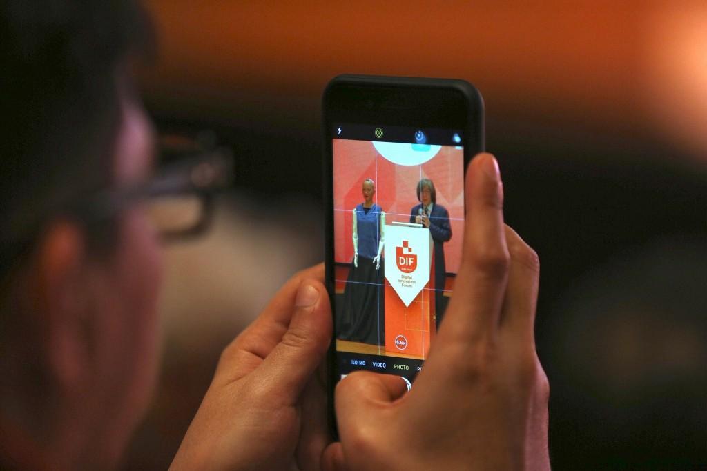 Sophia, world's 1st android citizen, opens Taipei Digital Innovation Forum