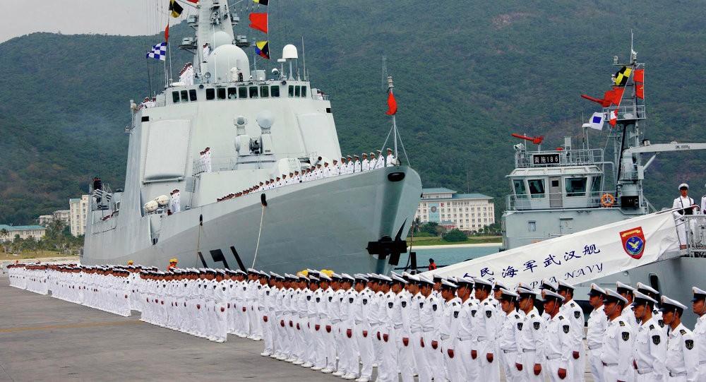 Assembled PLAN servicemen: File Photo