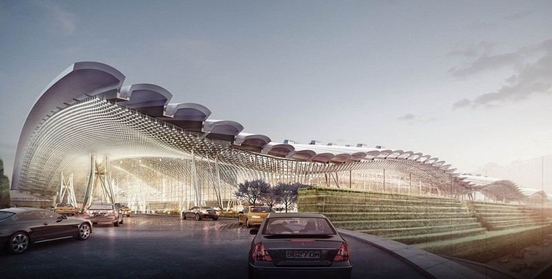 An image of what Terminal 3 should look like, once completed.
