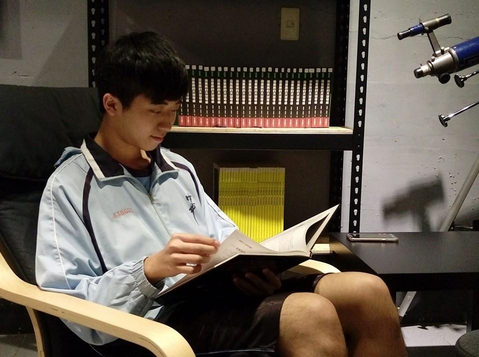 優秀新二代躍上中一中榜首盼錄取台大心理(照片來源:廖政華臉書)