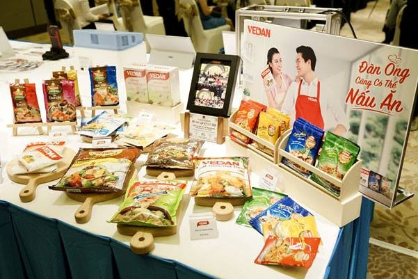 Taiwanese products on display. (Image courtesy of Taiwan Expo in Vietnam Facebook)