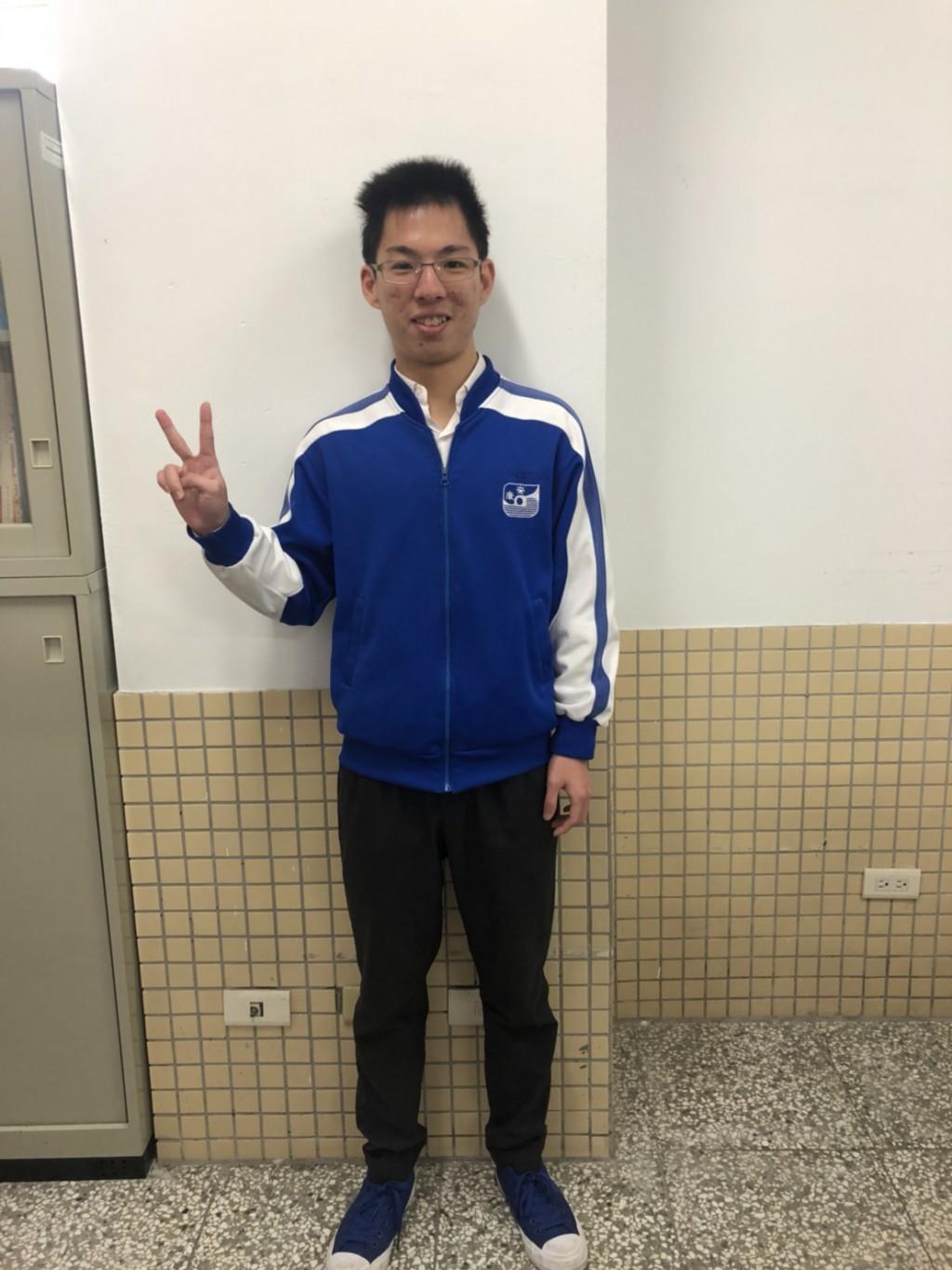 安康高中--龔一桓 (新北市政府教育局提供)