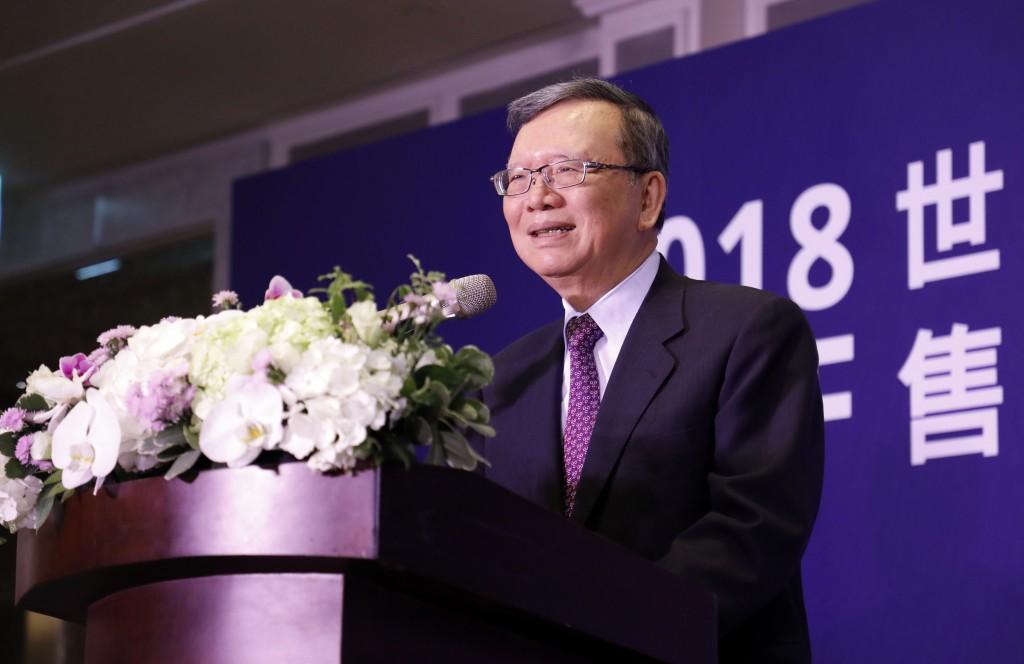 中華電信董事長鄭優表示會提供最優質的賽事轉播來支持第十屆iesf世界電競錦標賽 (中華電信提供)
