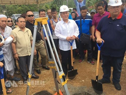 Taiwan breaks ground on 400 housing units in Marawi Saturday.