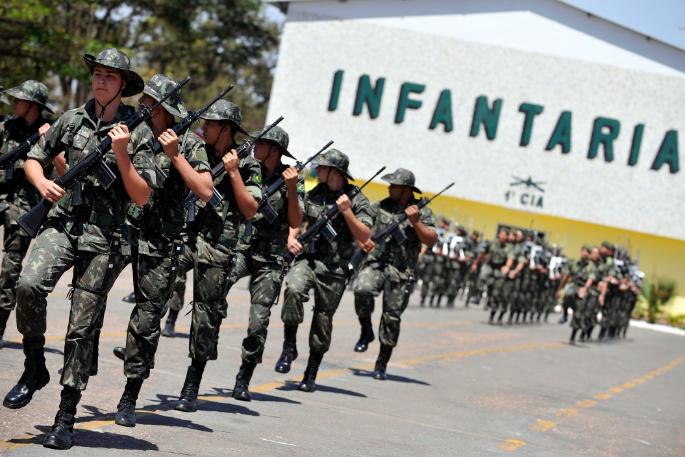 巴西軍人(翻攝自維基百科)