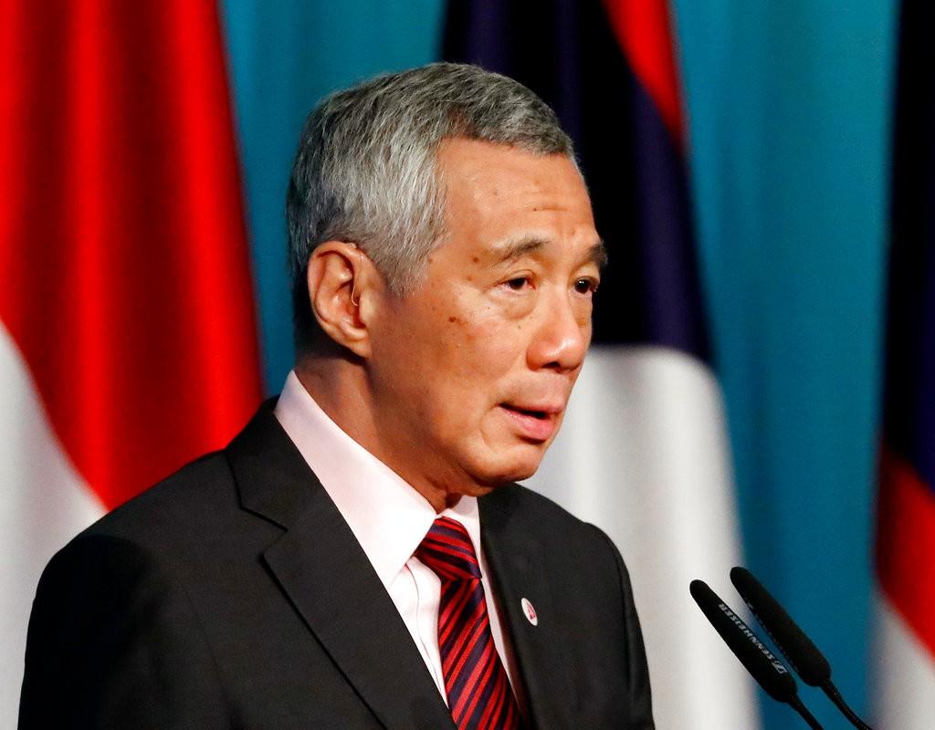 新加坡總理李顯龍(美聯社)