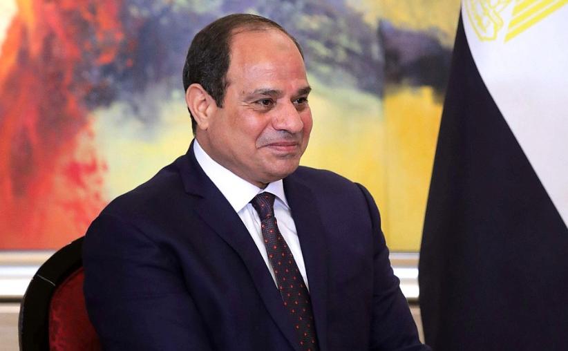 埃及總統阿卜杜勒-法塔赫·塞西訪俄資料照(翻攝自俄羅斯克林姆林宮網站)