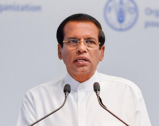 斯里蘭卡總統邁特里帕拉·西里塞納(Maithripala Sirisena)(翻攝自其推特)