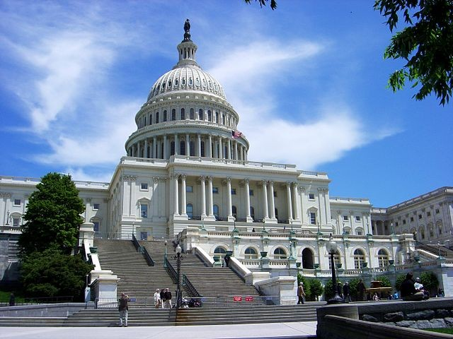 US Capitol Hill (Wikicommons image)