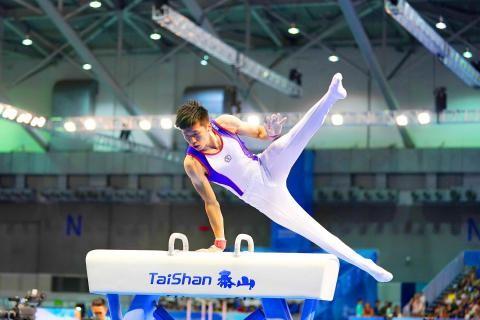 Lee Chih-kai at last year's Taipei Universiade.