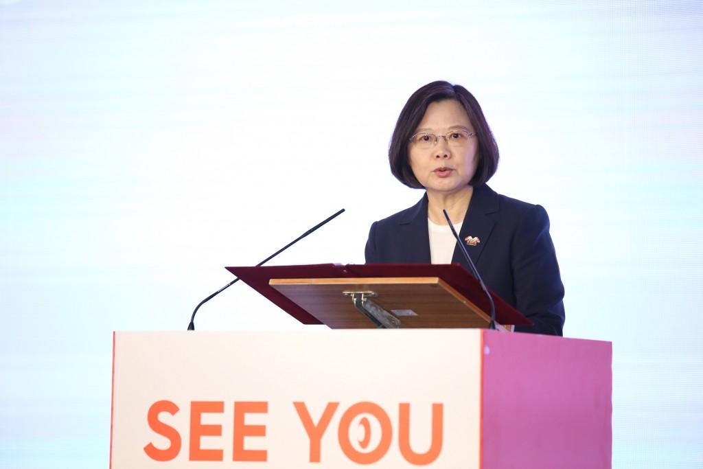 Tsai Ing-wen on July 21.