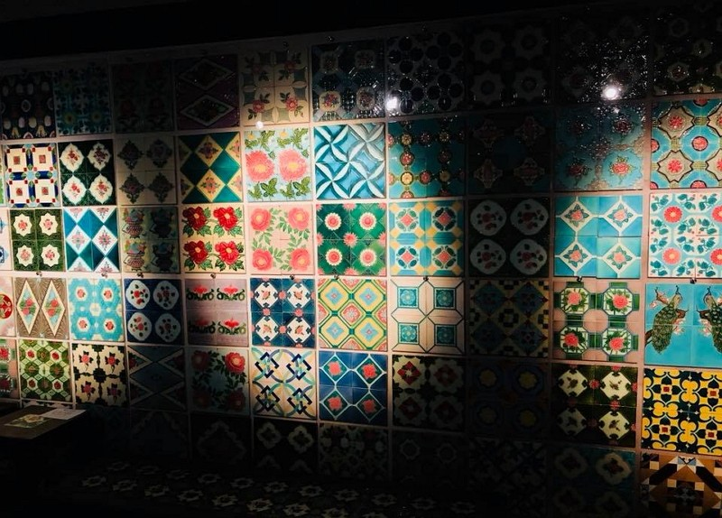 Inside Museum of Ancient Taiwan Tiles (Photo by the museum's FB page)