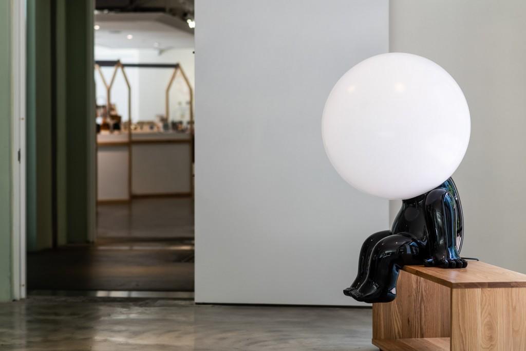台灣藝術家林建榮創作的作品《寞寞》,是不可錯過的熱門打卡點。 (富邦旅管提供)