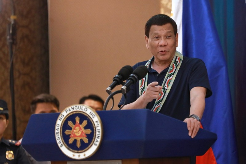 The Philippine President Rodrigo Duterte (Photo by Government of the Philippines)