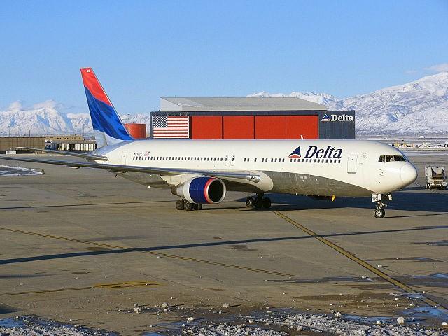 Delta Boeing 767.