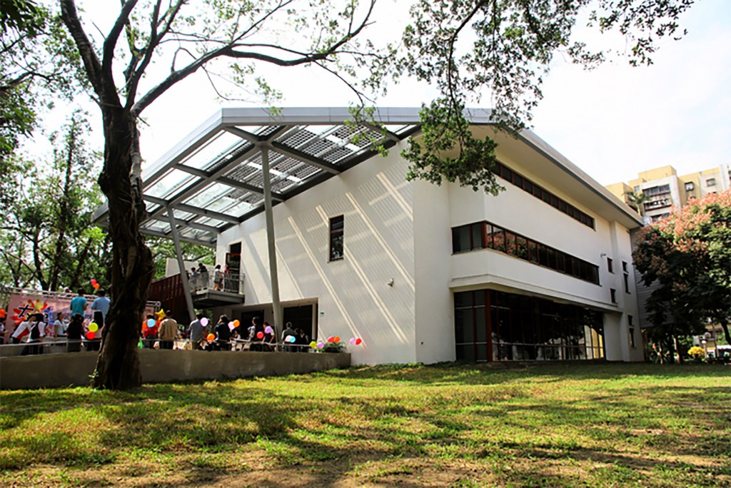 The Solar Library at Youth Park in Taipei.