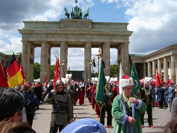 德國土耳其日活動(翻攝自維基百科)