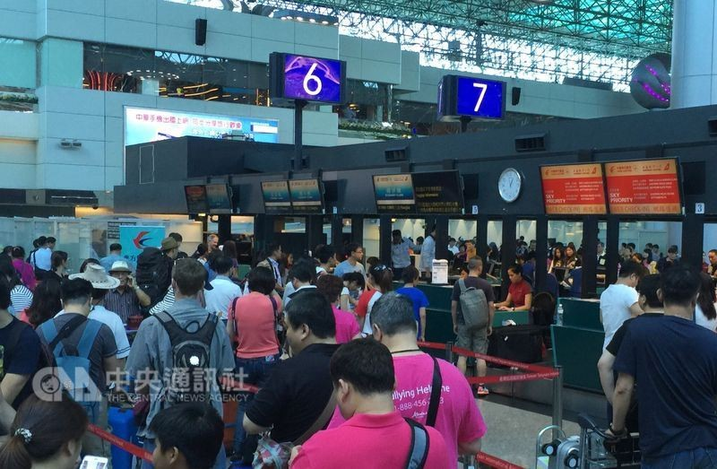 Taoyuan International Airport (File photo by CNA)