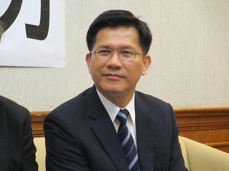 台中市長林佳龍開國際記者會提東亞青年運申復(照片來源:維基百科)