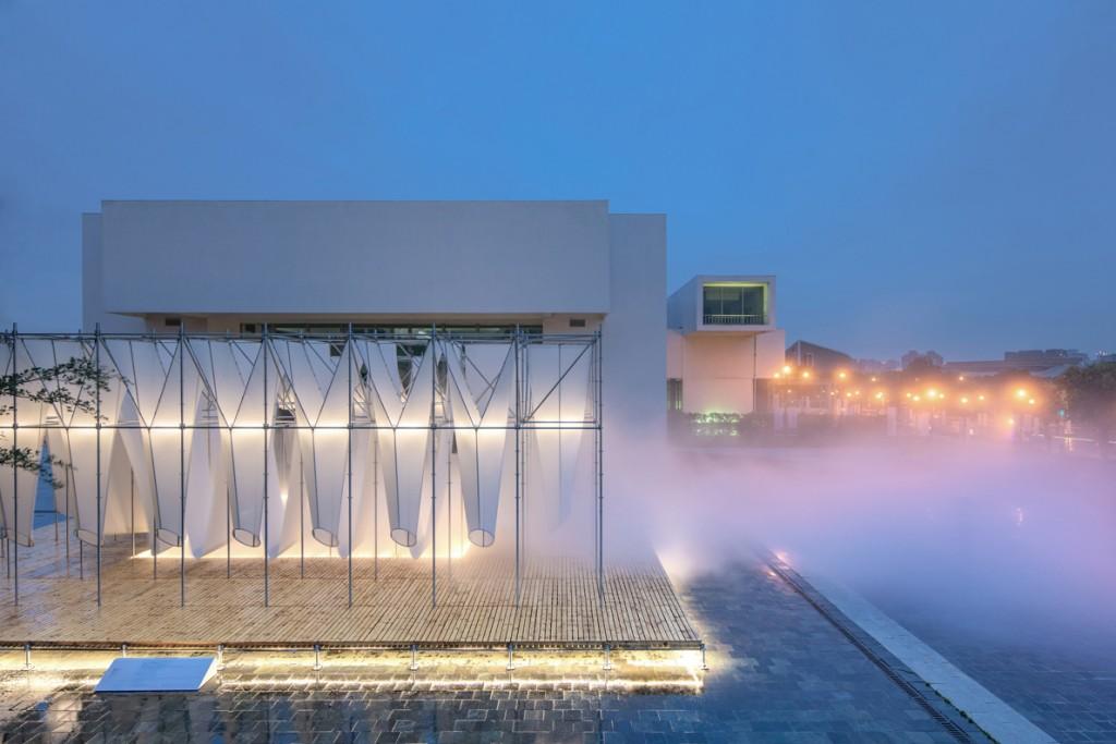 上屆台北設計獎公共空間金獎作品「供霧所」(照片來源:台北設計獎)
