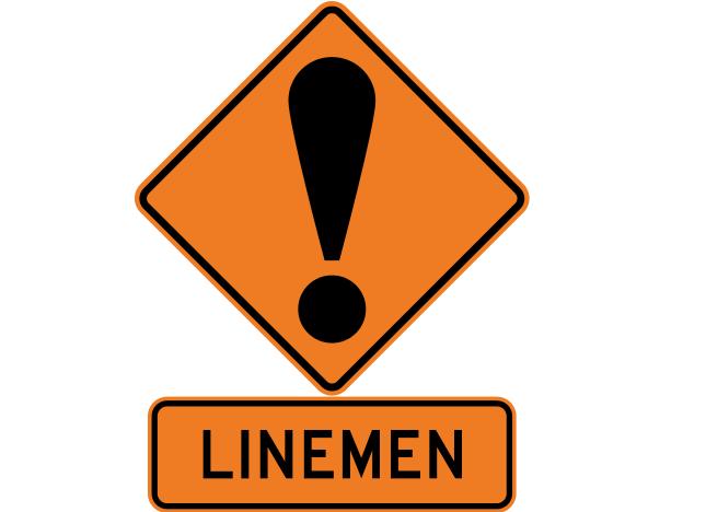 Zoe看到這項帶有性別歧視的標語「Linemen」,覺得忿忿不平,因此決定寫信給紐西蘭交通部(圖片來源:維基百科)