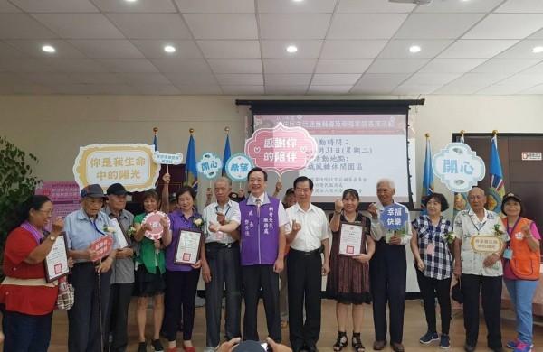 榮民與新住民夫妻組幸福家庭獲表揚(照片來源:新竹榮民服務處)