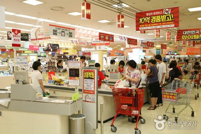 南韓超市(圖片/南韓觀光公社)