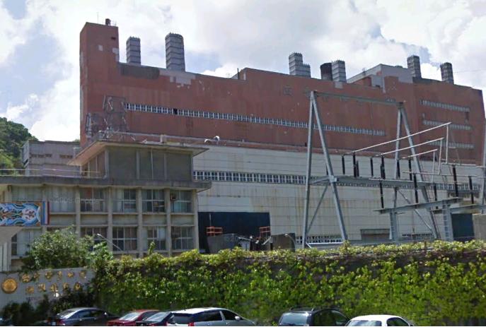 已拆除的深澳發電廠舊廠房