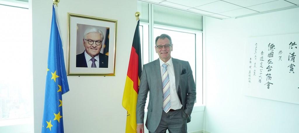 Thomas Prinz (Image courtesy of German Institute Taipei)
