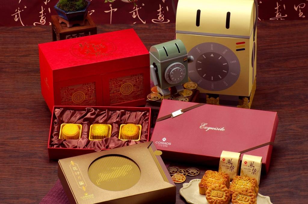 天成飯店集團中秋禮盒。