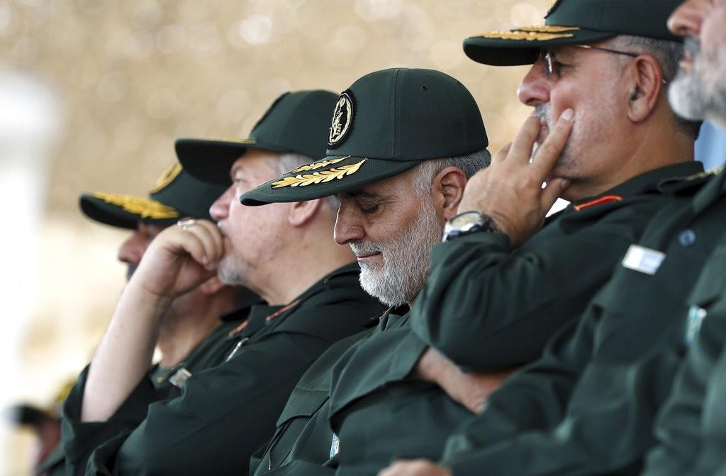 伊朗軍隊高層(美聯社)