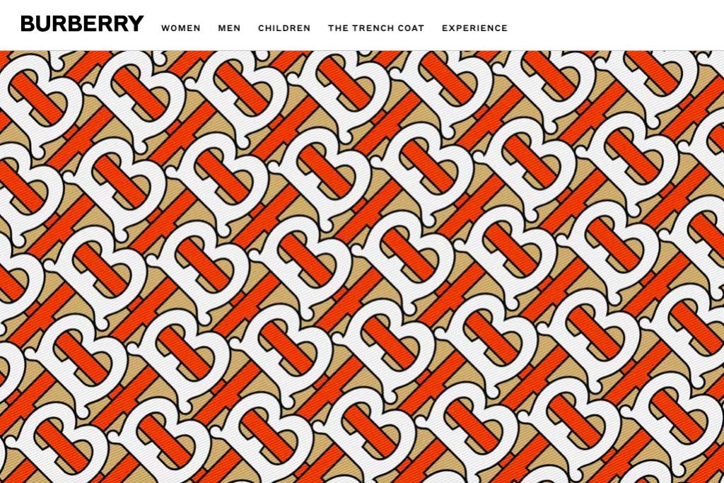 Burberry於20年來首度改版Logo設計(圖片翻攝自Burberry官網)