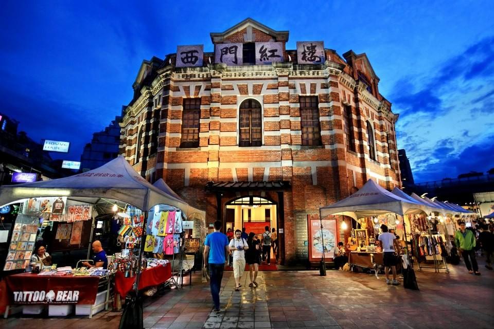 The Red House, Taipei. (Image courtesy of Taiwan Tourism Bureau)