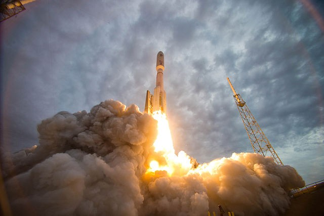 MUOS 2 satellite launch.